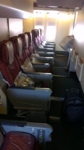 best economy seat on a Qantas 747