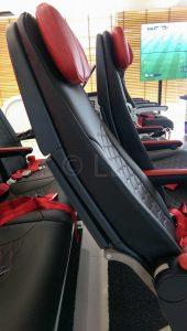 Mirus Slimline seating