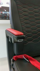 Mirus Slimline seating