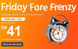 Jetstar's Friday Frenzy