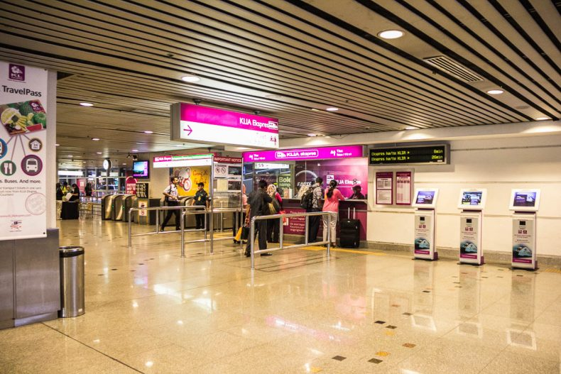 KL Sentral, KLIA Ekspres savers,Wave & Save