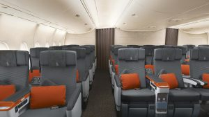 new A380 cabin products