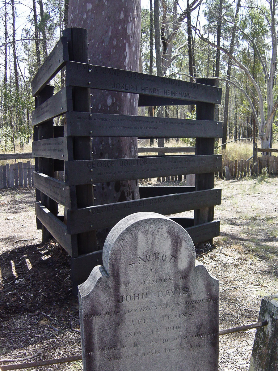 Old Cemetery, Cecil Plains, Queensland, country town