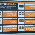 bag wrap, Superstrap Security wrapping