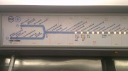 Station information, RER train