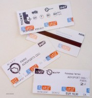 Paris train tickets