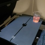 Qantas tray table A330-300