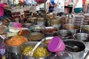 Penang food, take away, nasi ulam