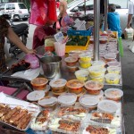 Penang food, take away selection