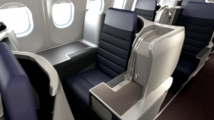 Malaysia Airlines A330, Business Class seating