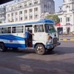 navigating Yangon