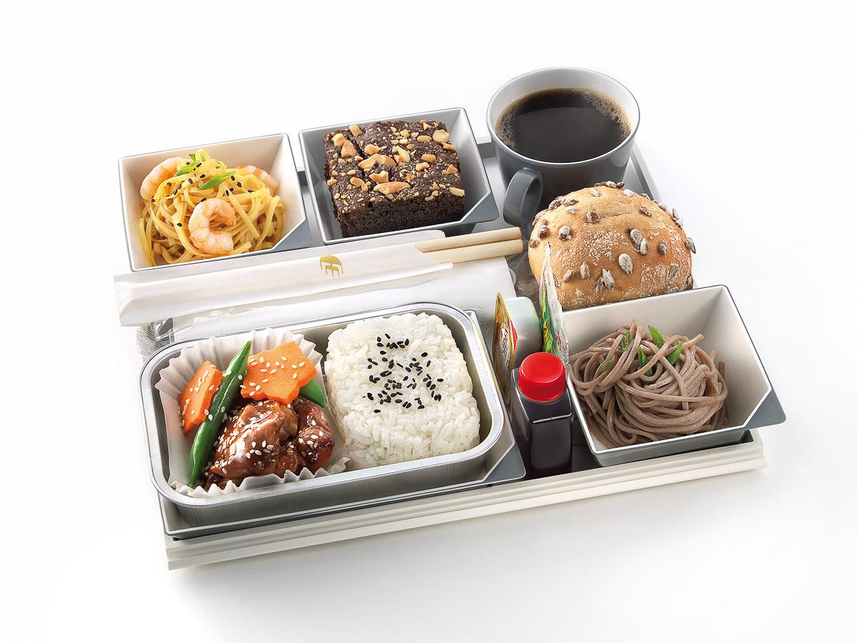 Virgin baggage food japan
