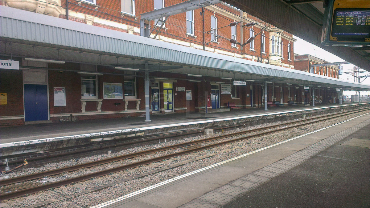 Harwich International Station