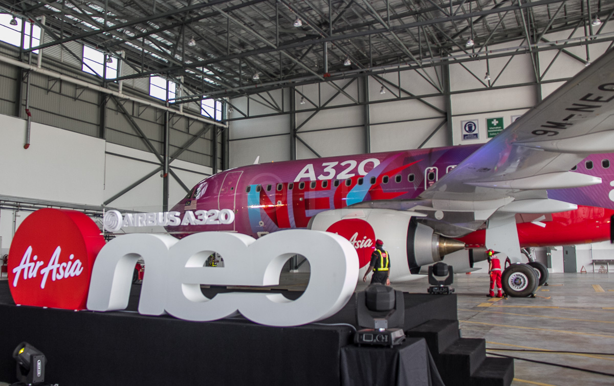 AirAsia's first Airbus A320neo