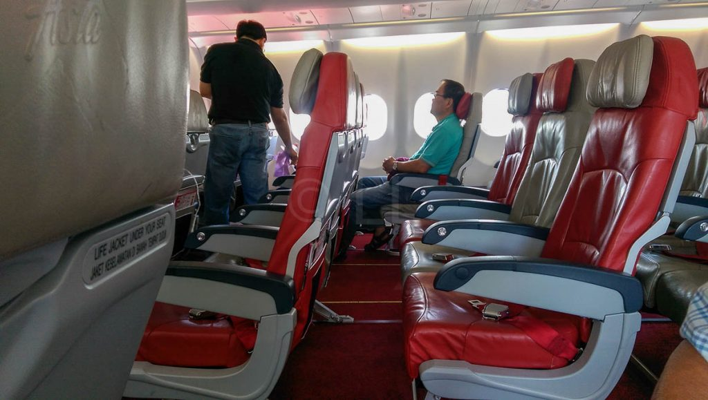Best standard seat on an AirAsia X A330 - Economy Traveller