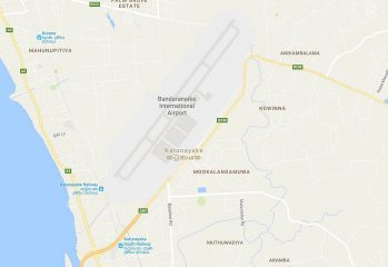 Sri Lanka airport runway renovation