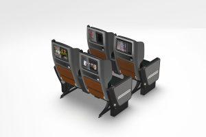 Qantas Dreamliner Premium Economy rear view, credit: Qantas