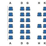 Malaysia Airlines Airbus A330 Business Class seat map