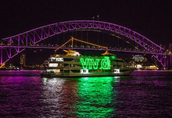 Vivid Sydney 2017 - Circular Quay and Harbour Lights by Destination NSW