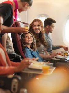 Qantas reshapes long haul flying - in-flight meals