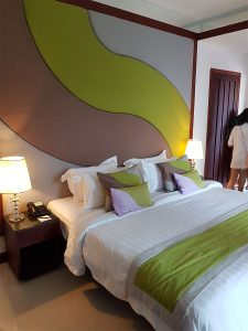 Sihanoukville Accommodation - Dara Independence Hotel - 2 bedroom pool villa bedding