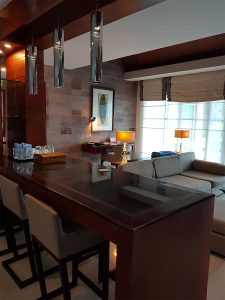 Sihanoukville Accommodation - Dara Independence Hotel - 2 bedroom pool villa lounge and kitchen