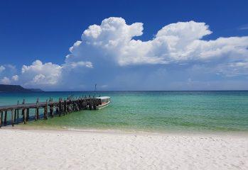 Sihanoukville, Cambodia - Sok San beach