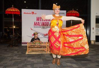Malindo Air Melbourne-Bali launch: Balinese dance