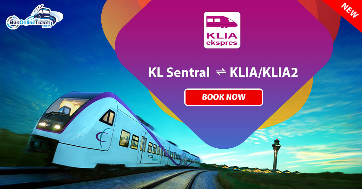 Klia Ekspres Signs Deal With Bus Online Ticket Economy