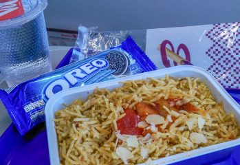 in-flight food changes