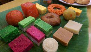 Indian sweet cakes, Selangor Culinary Adventure 2019